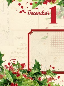 3x4 printable project life december daily