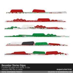 christmas paper edges