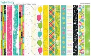 OMFL Pocket Pages Border Strips
