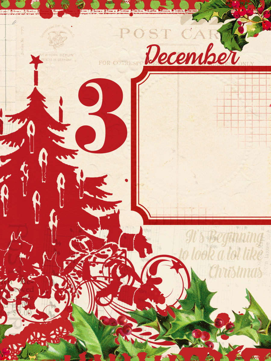 3x4 free printable project life december daily cards