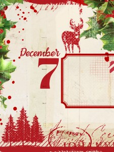 3x4 free project life decemebr daily printable
