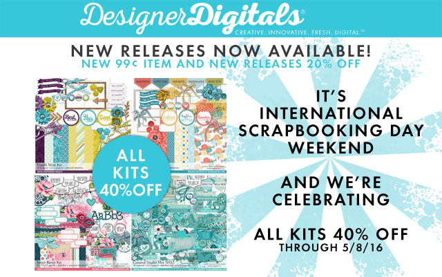 iNSD Scrapbook Day Sale