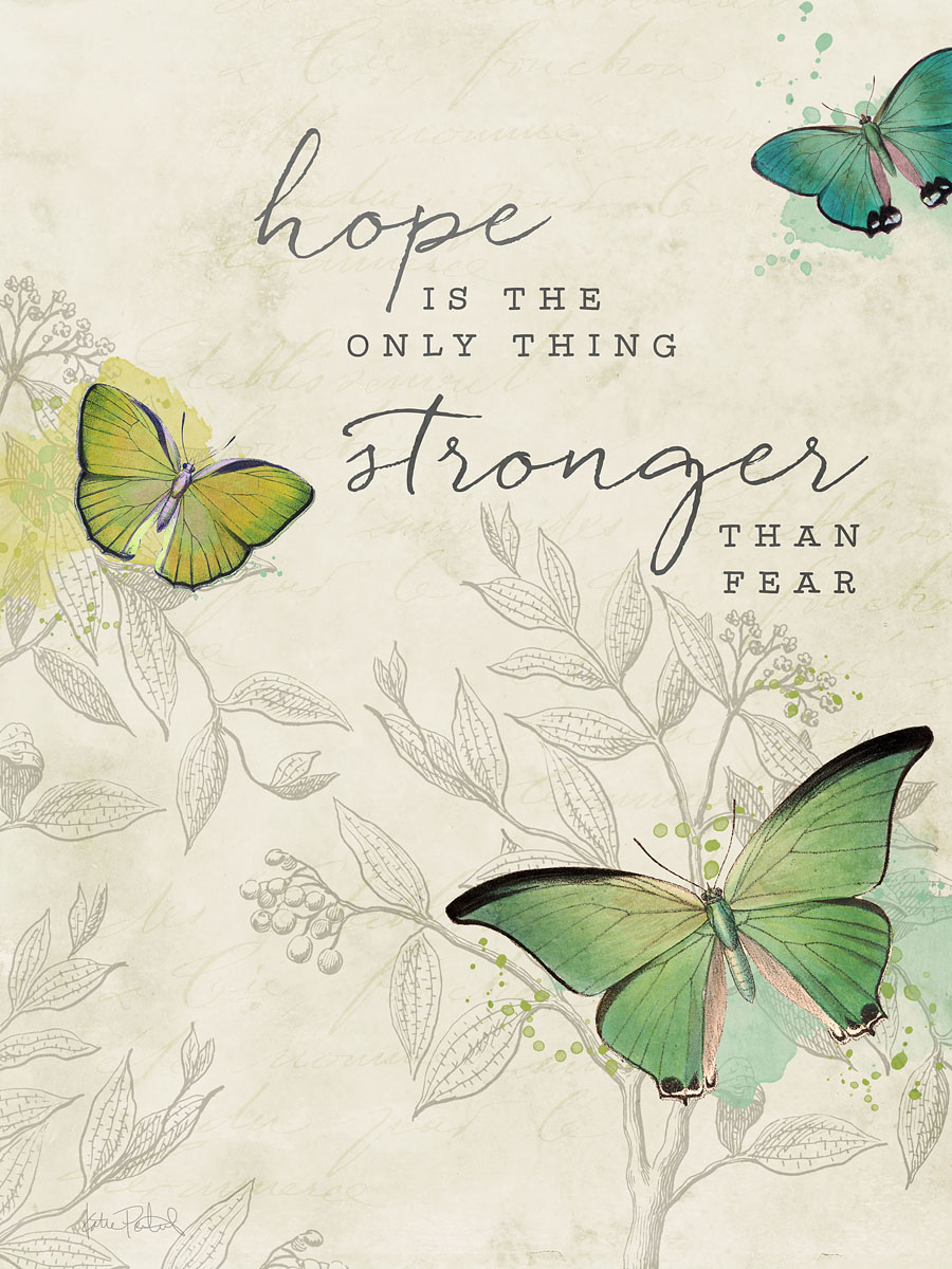 free 3x4 printable pocket card with quote and vintage butterflies