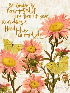 free 3x4 printable vintage botanical quote card for project life