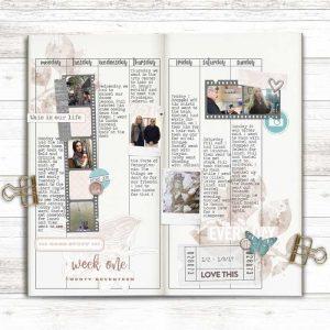 Anke Project Life Traveler Notebook