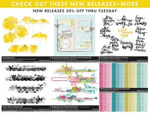 Designer Digitals downloads for scrapbooking