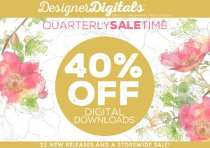 Digital Downloads for card making and scrapbooking