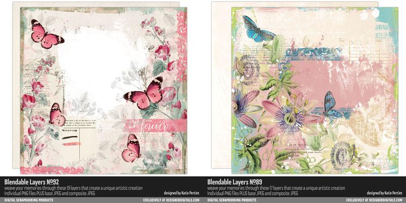 Katie Pertiet Vintage Collage Blendable Layers