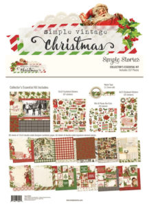 Katie Pertiet Simple Vintage Christmas Scrapbook Collection