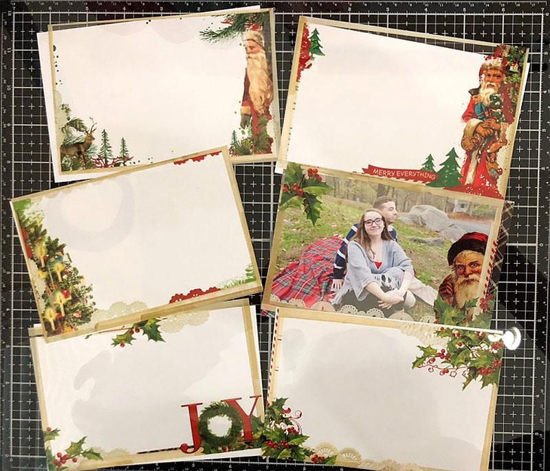 katie pertiet simple vintage christmas transparencies