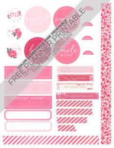 Katie Pertiet FREE Planner Printable