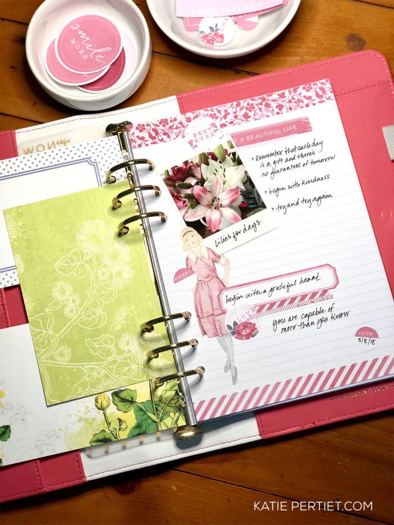 Katie Pertiet Planner Girl Free Planner Printables