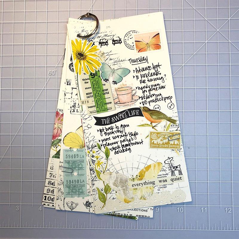 Katie Pertiet Printable Travelers Notebook Insert Bullet Journaling Junk Journal