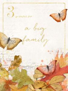 Practicing Gratitude 30 days of thankfulness
