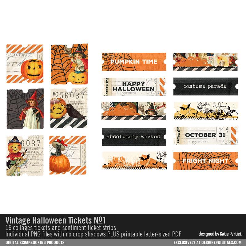 Vintage Halloween Planner Printables