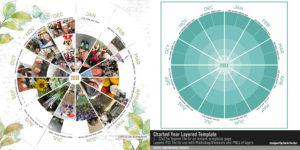 Katie Pertiet Year in Review Layered Template