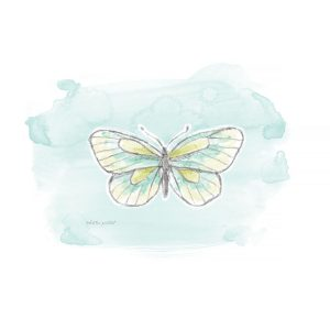 Katie Pertiet watercolor butterfly