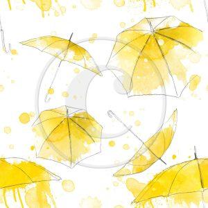 Katie Pertiet Watercolor Umbrellas
