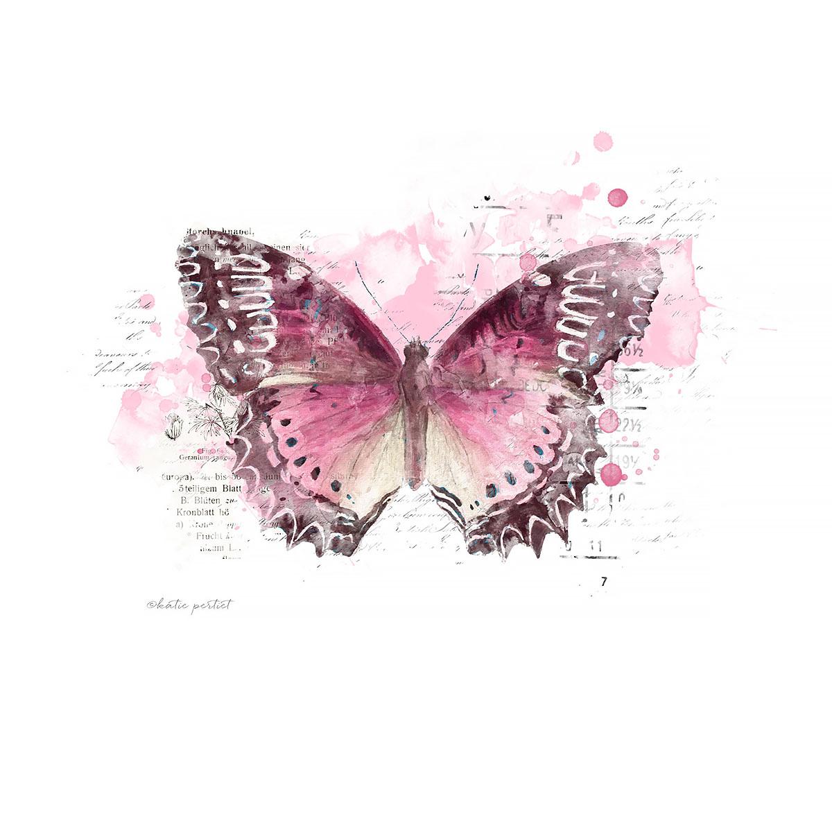 Katie Pertiet Painted Butterflies