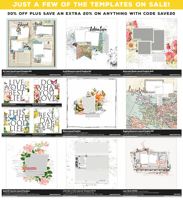 Photoshop Page Templates