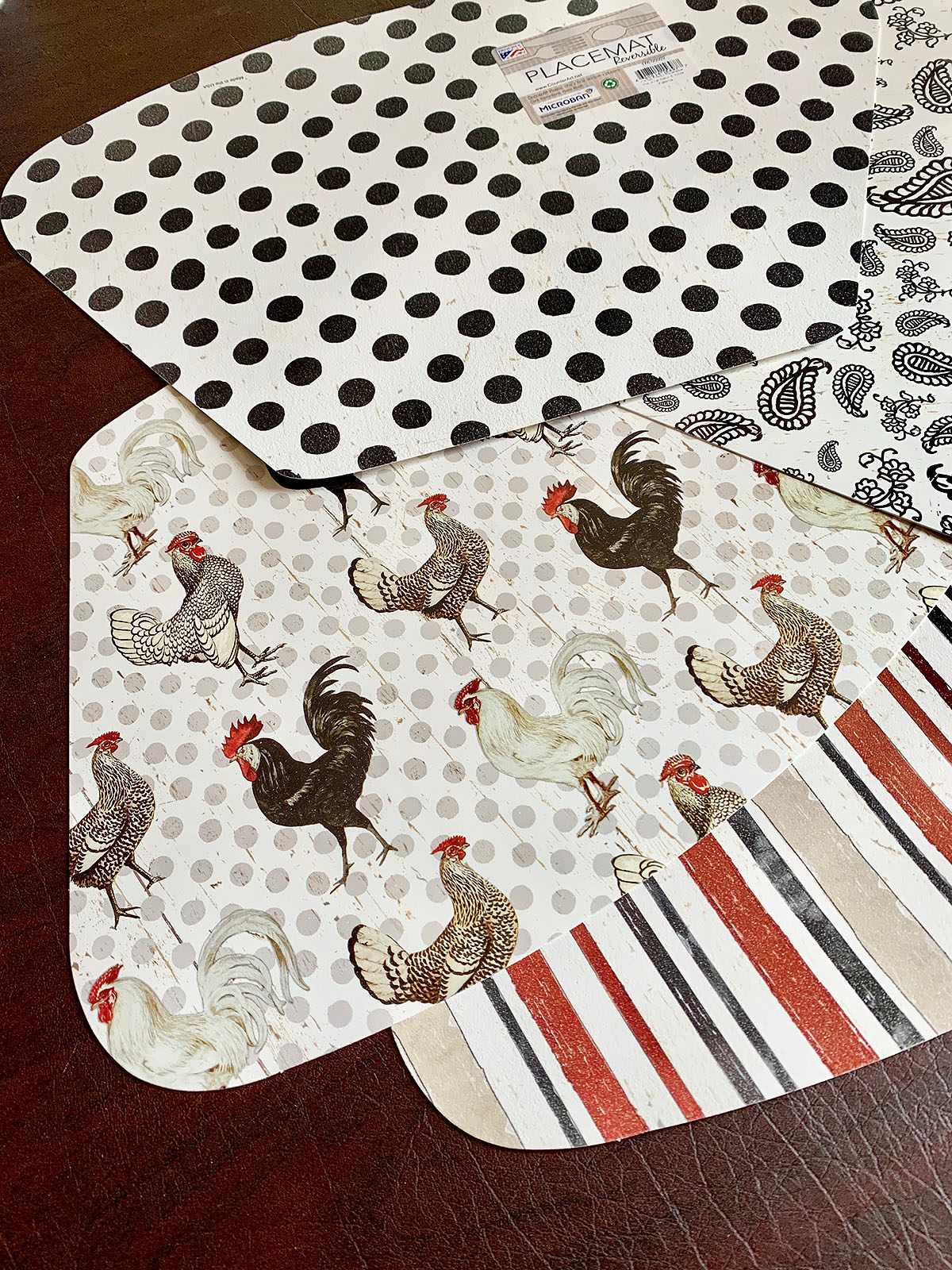 CounterArt Rooster Placemats