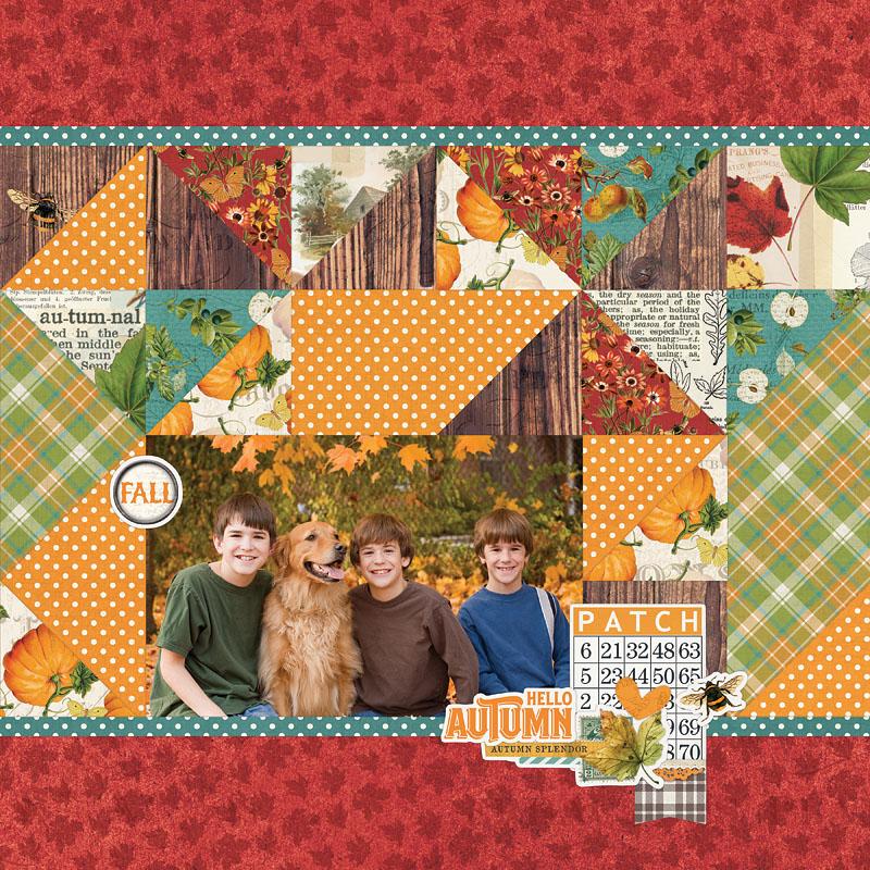 Simple Stories Autumn Splendor