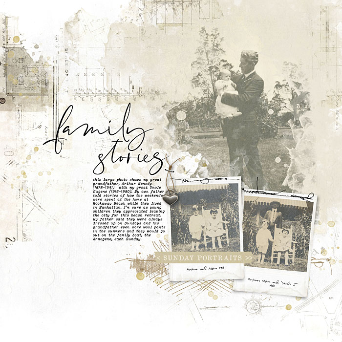 Heritage Genealogy Scrapbooking
