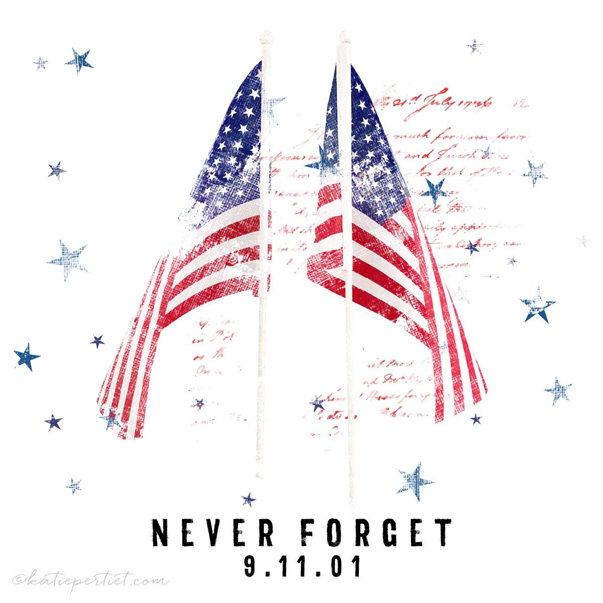 Katie Pertiet Americana Never Forget