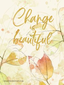 Katie Pertiet Watercolor Leaves