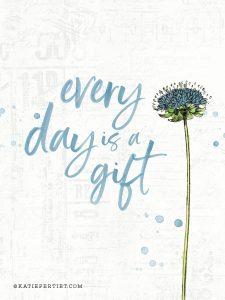 Katie Pertiet Botanical Quote card
