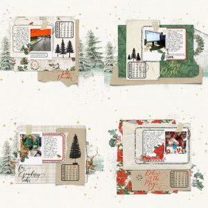 Katie Pertiet Collage December Daily