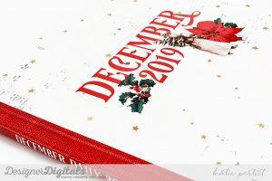 Katie Pertiet December Daily Scrapbook