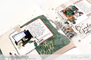 Katie Pertiet December Daily Scrapbook