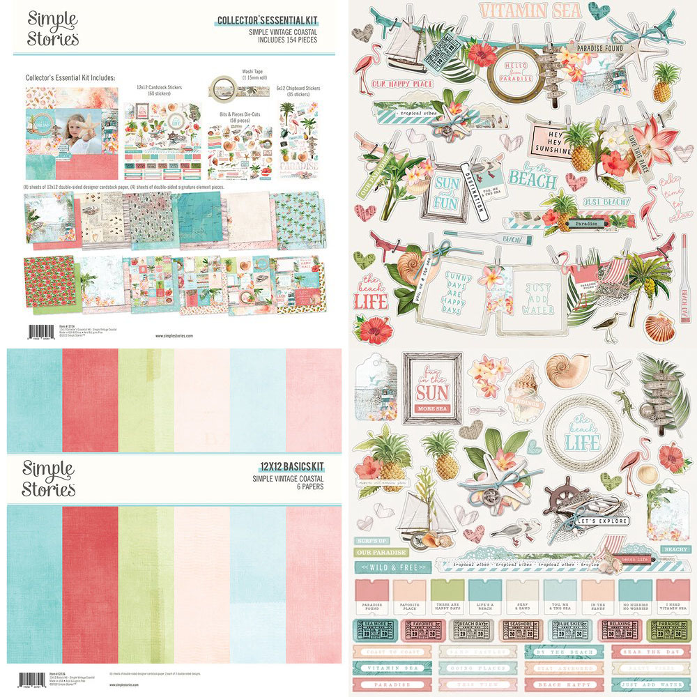 Katie Pertiet Coastal Paper Craft Collection