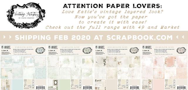 Katie Pertiet Vintage Artistry Papers