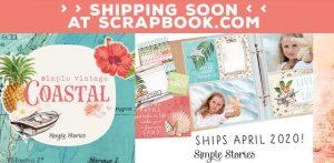 Katie Pertiet Vintage Tropics Scrapbook Kit