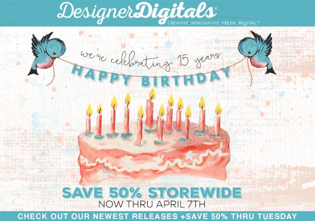 Digitals Scrapbooking Website Anniversary