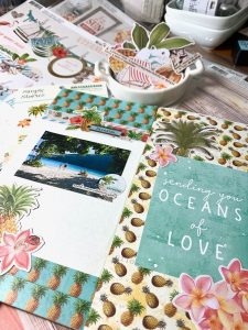 Katie Pertiet Simple Vintage Scrapbook Products