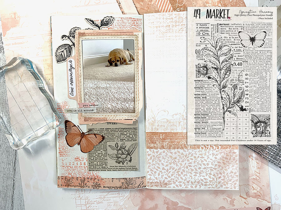 Katie Pertiet Rubber Stamps
