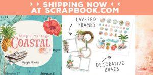 Simple Vintage Coastal Scrapbook Products