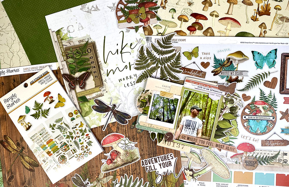 Katie Pertiet Great Escape Scrapbooking