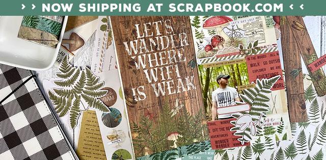 Katie Pertiet Paper Scrapbook Products