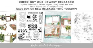 Katie Pertiet Designs Scrapbook Products
