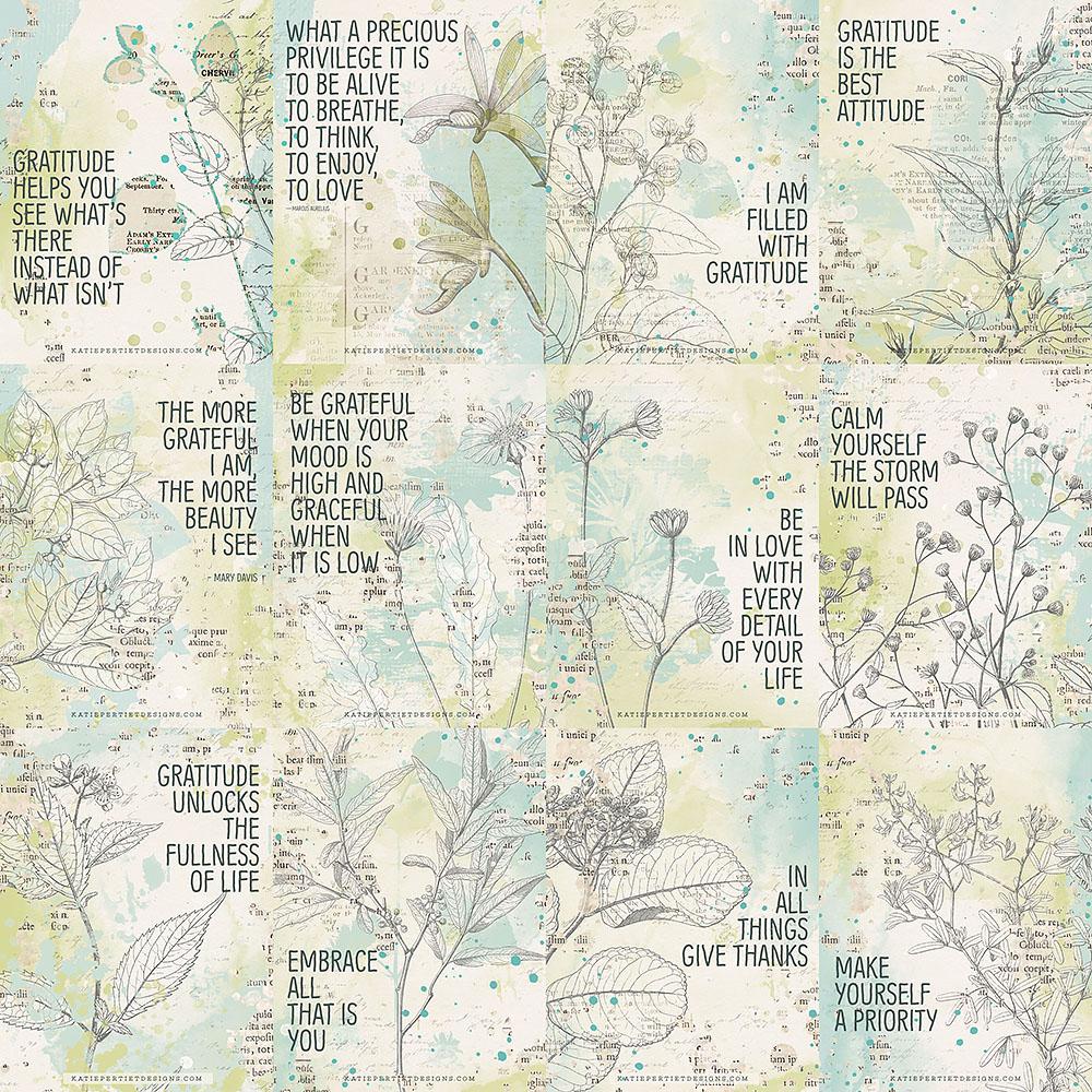 Katie Pertiet Journal Cards