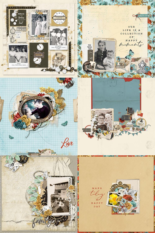 Katie Pertiet Ancestry Scrapbook Collection