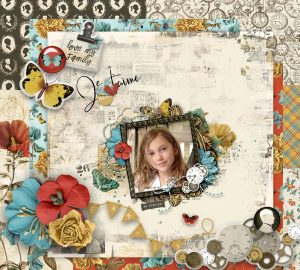 Katie Pertiet Ancestry Scrapbook Collection
