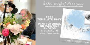 Katie Pertiet Digital Scrapbooking Tutorial