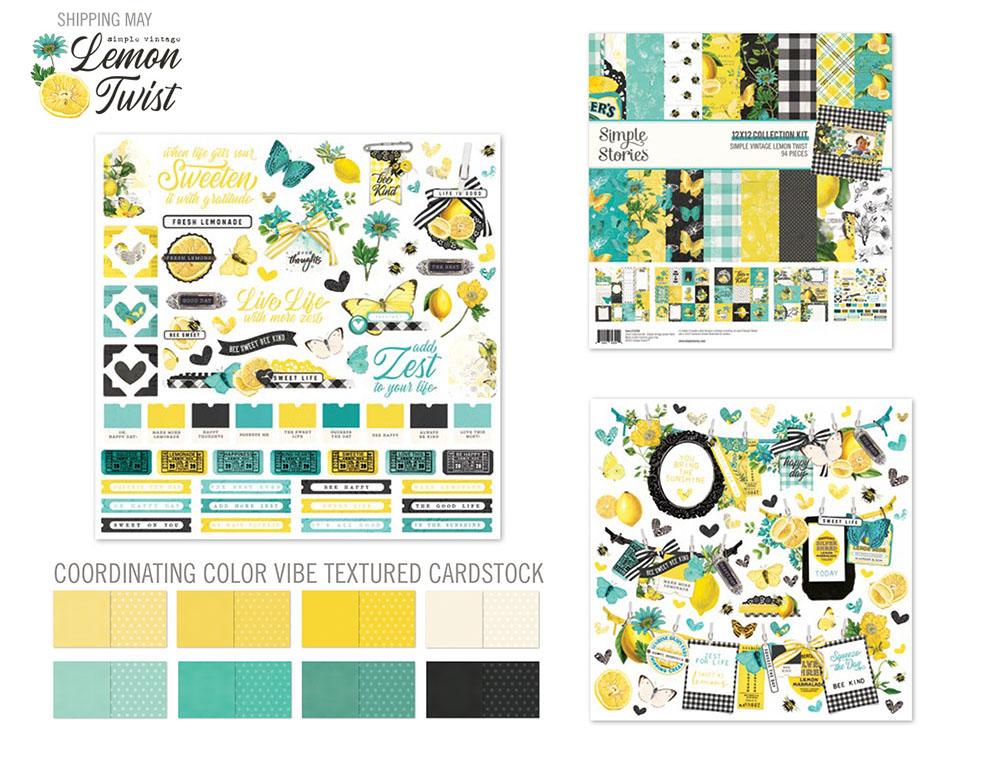Katie Pertiet designs for Simple Stories