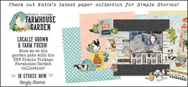 Katie pertiet Designs Simple Stories Vintage